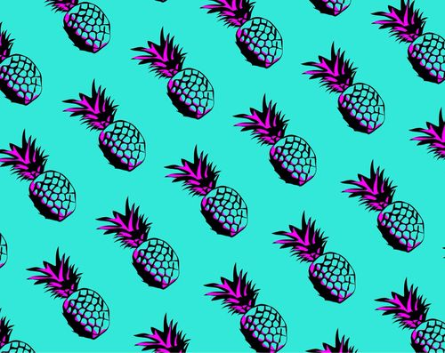 Group of: Pineapple backgrounds | We Heart It | Pineapples ...
