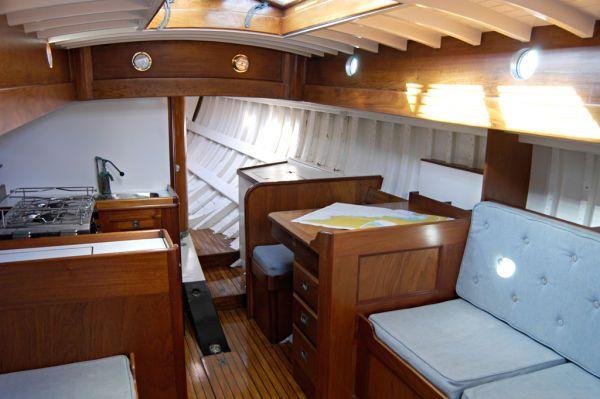 Interiror Wooden Classic Sailboat Nice Sailboat Restorations Pinterest Sailboat