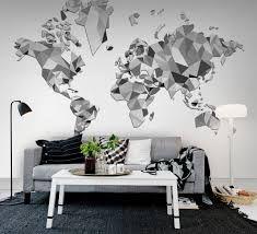 Afbeeldingsresultaat voor muurdecoratie woonkamer modern | world ...