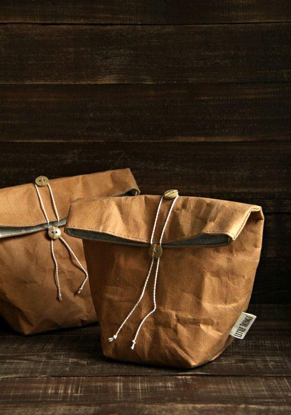 Sold Lunch Bag Kraft Paper Bag Fabric Bag Food Storage