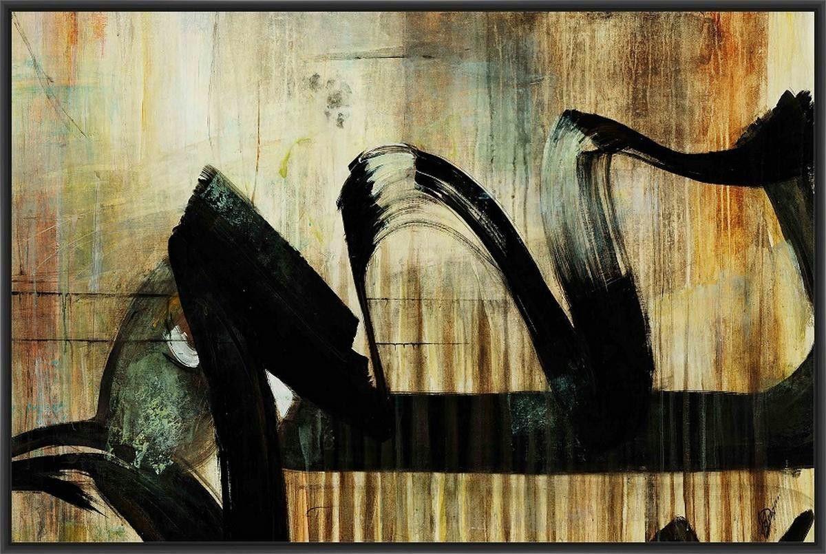 Art zero iv l x h floater framed art giclee wrapped canvas