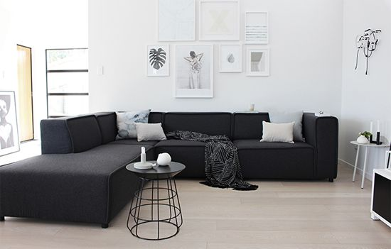 Captivating The Design Chaser X BoConcept   Buying A Custom Carmo Grey Felt Sofa