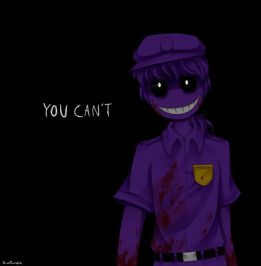 Purple Guy By Aimturein On Deviantart Purple Guy Fnaf Fnaf Art