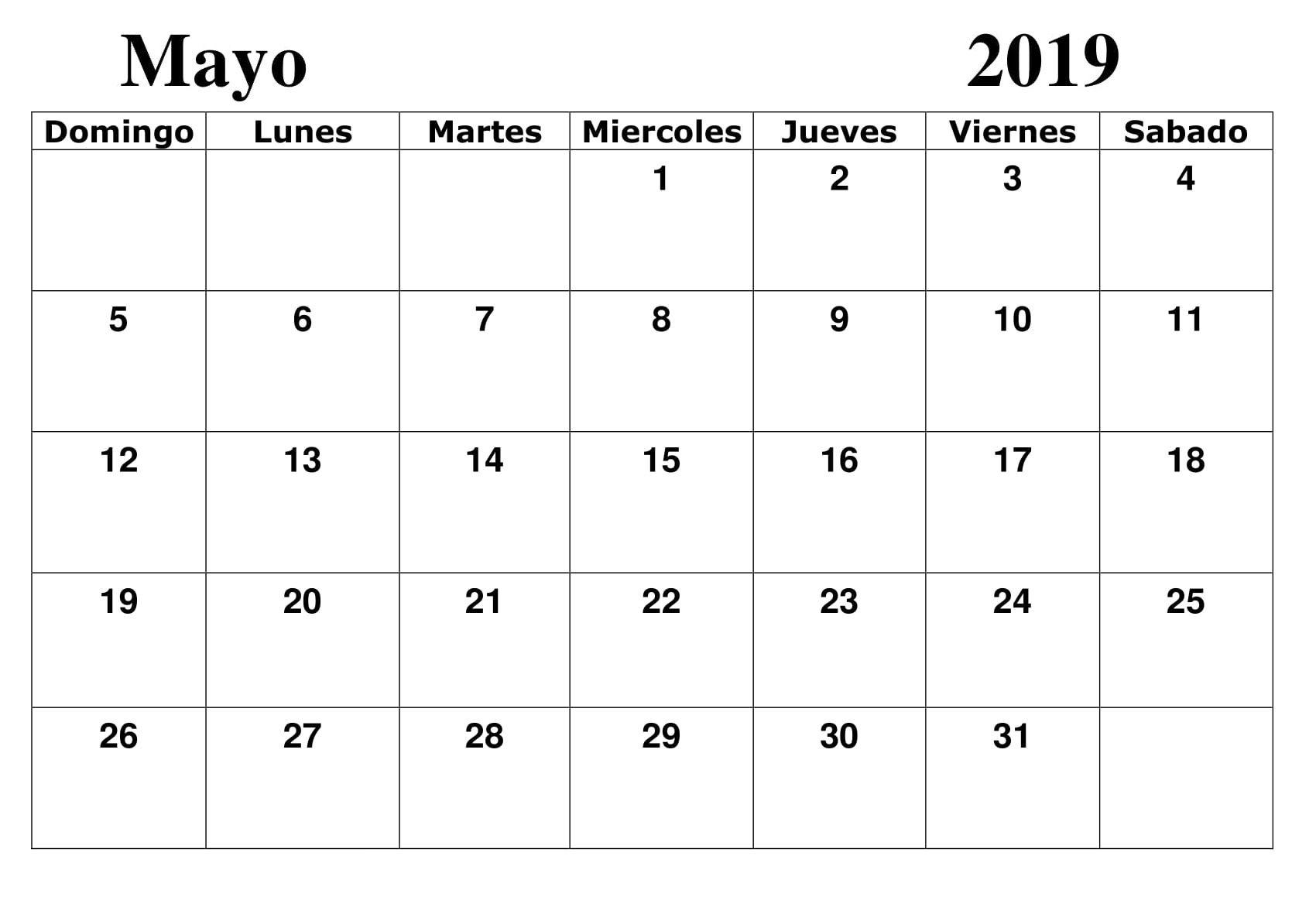 Calendario Mayo2019.Calendario Mayo 2019 Argentina Grande Calendario Mayo 2019 Para