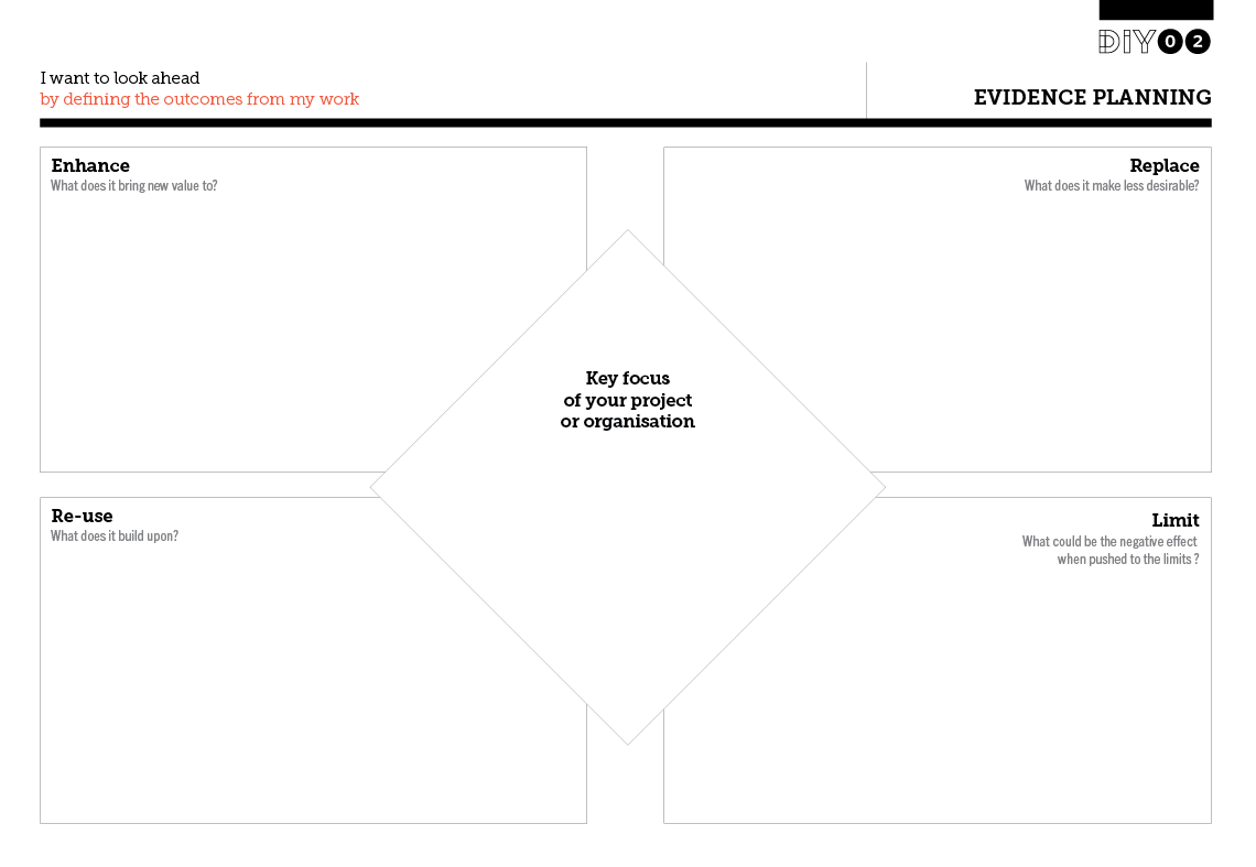 Tool Worksheet Image For Evidence Planning