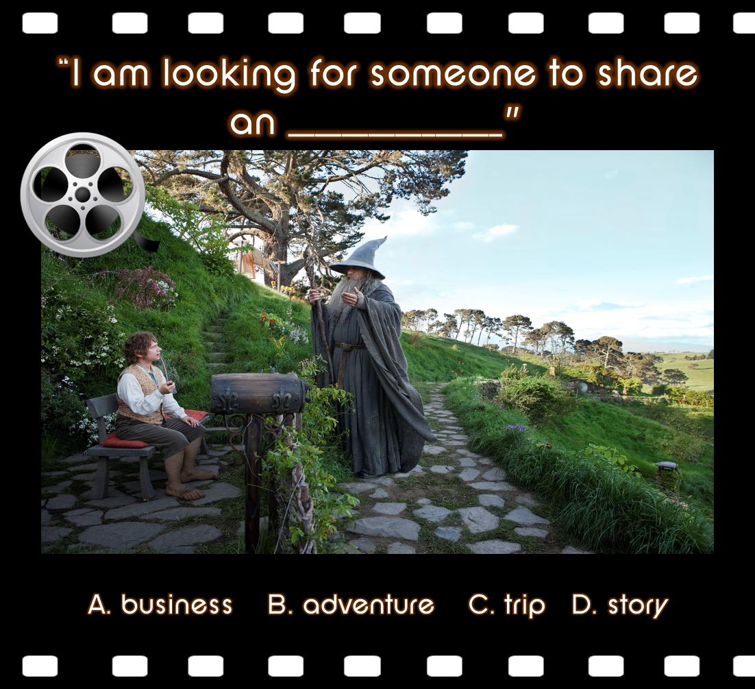 The Hobbit Esl Movie Lesson S Facebook