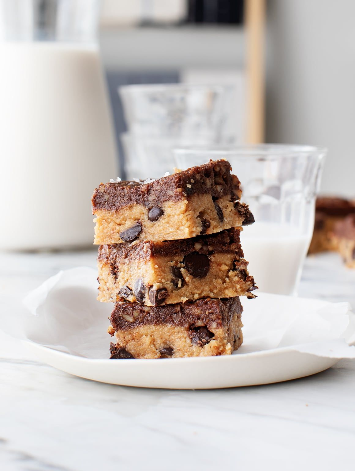 Raw Peanut Butter Cookie Dough Superfood Bars