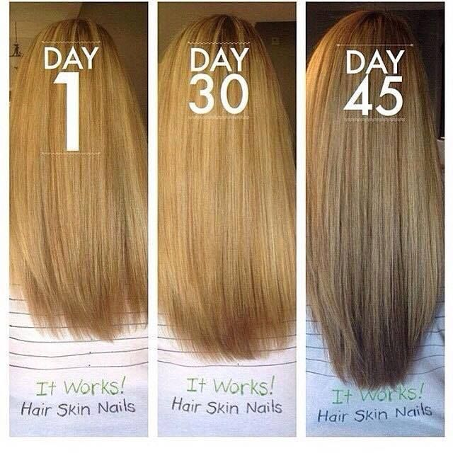 Hair Skin and Nails! Boosts your natural collagen and ...