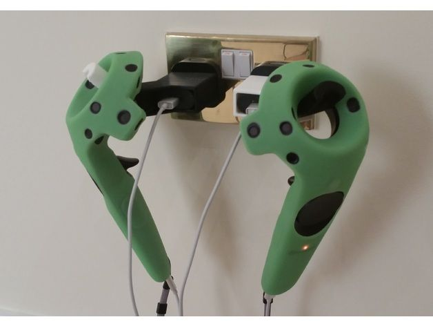 Htc Vive Controller Wall Charging Mount By Jeff