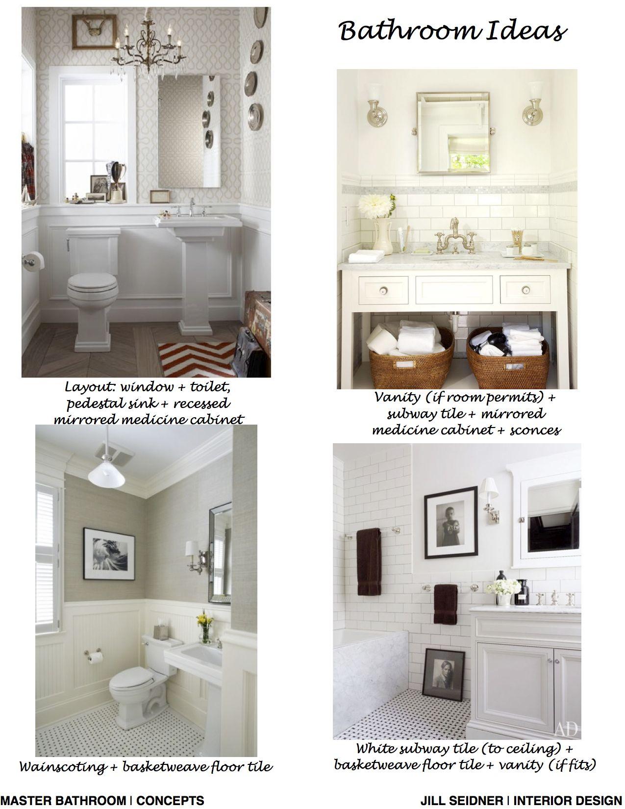 Los Angeles Craftsman House Residence, Master Bathroom Ideas Concept ...