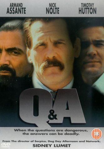 Q And A DVD 1991 Amazonuk Nick Nolte, Timothy Hutton - presumed innocent movie