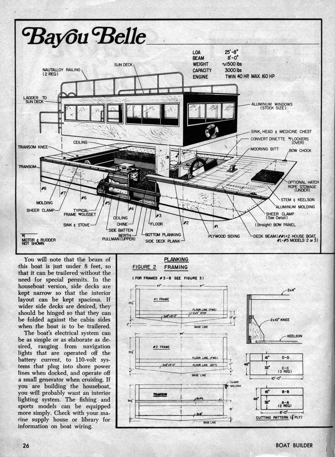 Houseboat plans 1 houseboat ideas and tiny homes pinterest diy boat houseboat plans 1 solutioingenieria Choice Image
