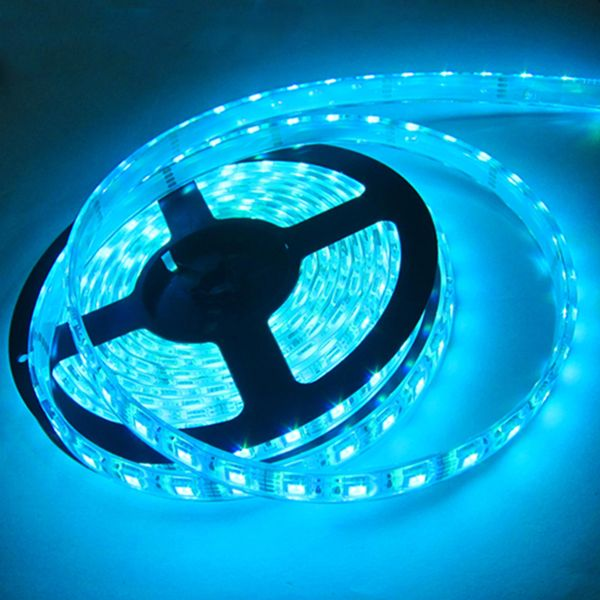 Led Strip Light With Sky Blue Emitting Color