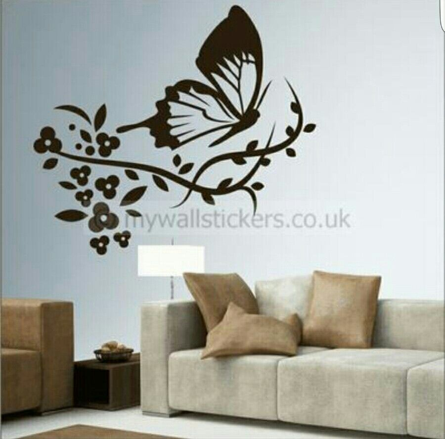 Butterfly Wall Sticker Home Decor Home Interior Design Home