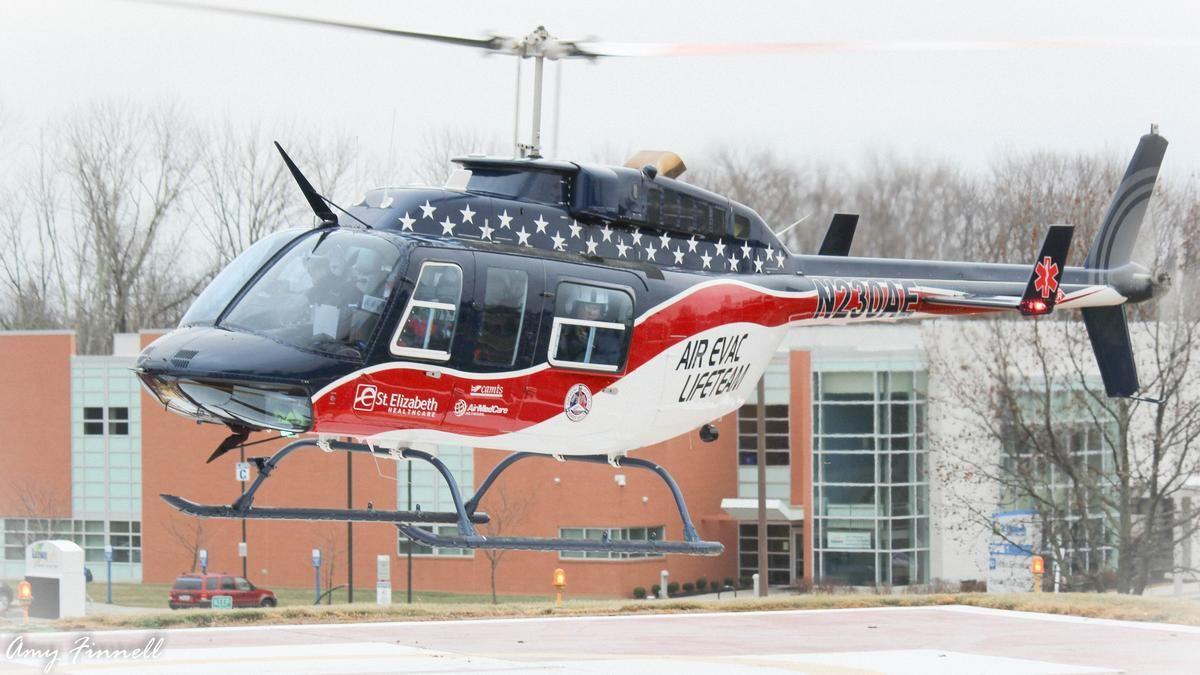 St. Elizabeth lands helicopter ambulance base for Air Evac