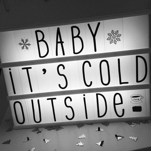 Brrrrrrr Baby It S Cold Outside