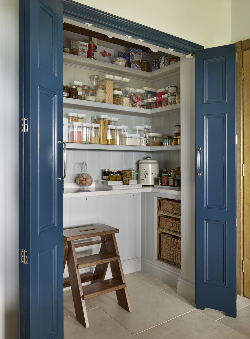kitchen storage ideas 27 solutions for an organised space real homes in 2020 pantry room on kitchen organization layout id=51050