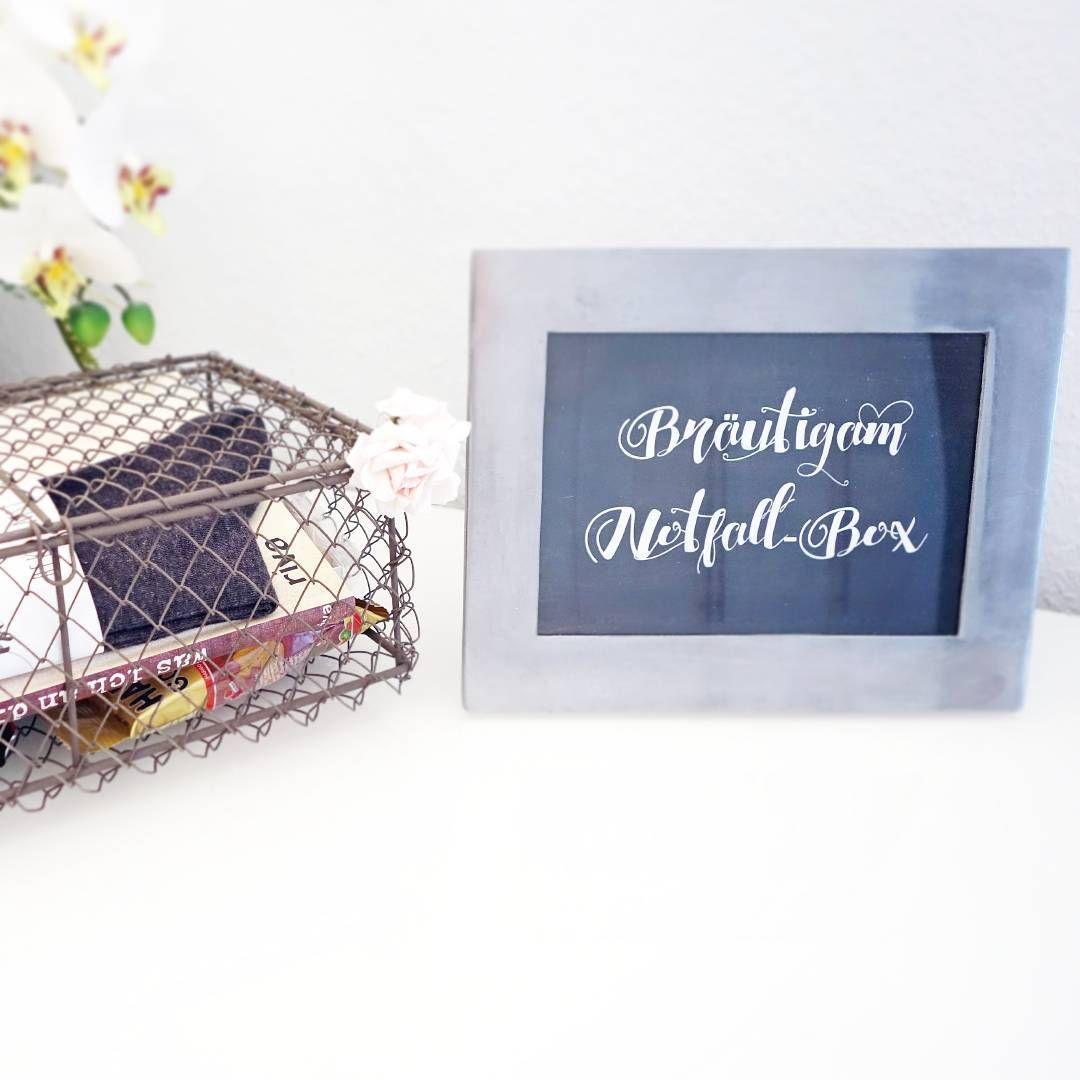 Brutigam NotfallBox! Eine tolle berraschung von der Braut fr ihrenhellip