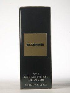 Jil Sander No 4 By Jil Sander Rich Shower Gel 6 8 Ounce By Jil Sander 140 00 Shower Gel This Item Is Not A Tester 6 8 Shower Gel Body Cleanser Body Wash
