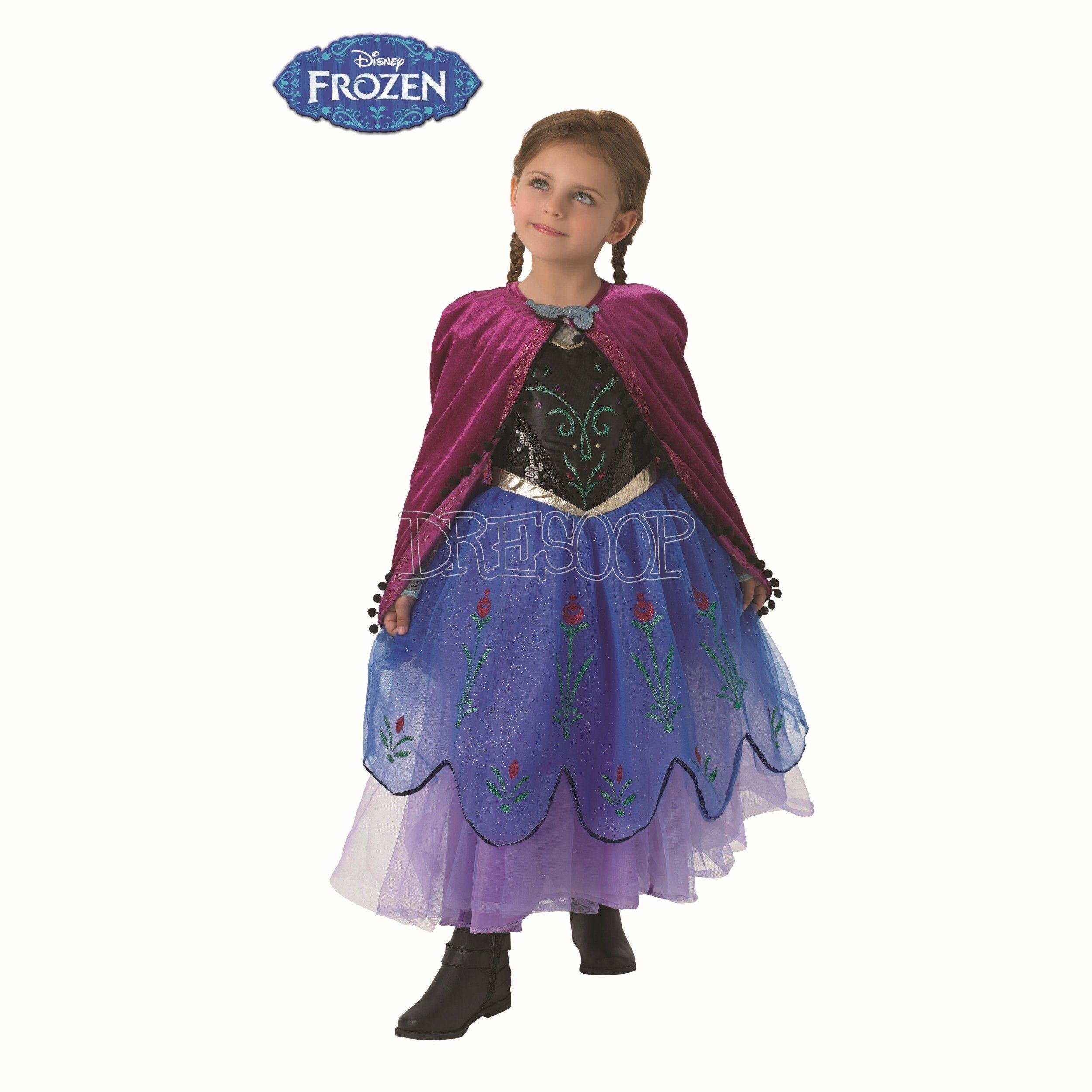 Disfraz Anna Premium para niña © | Anna y Para niños