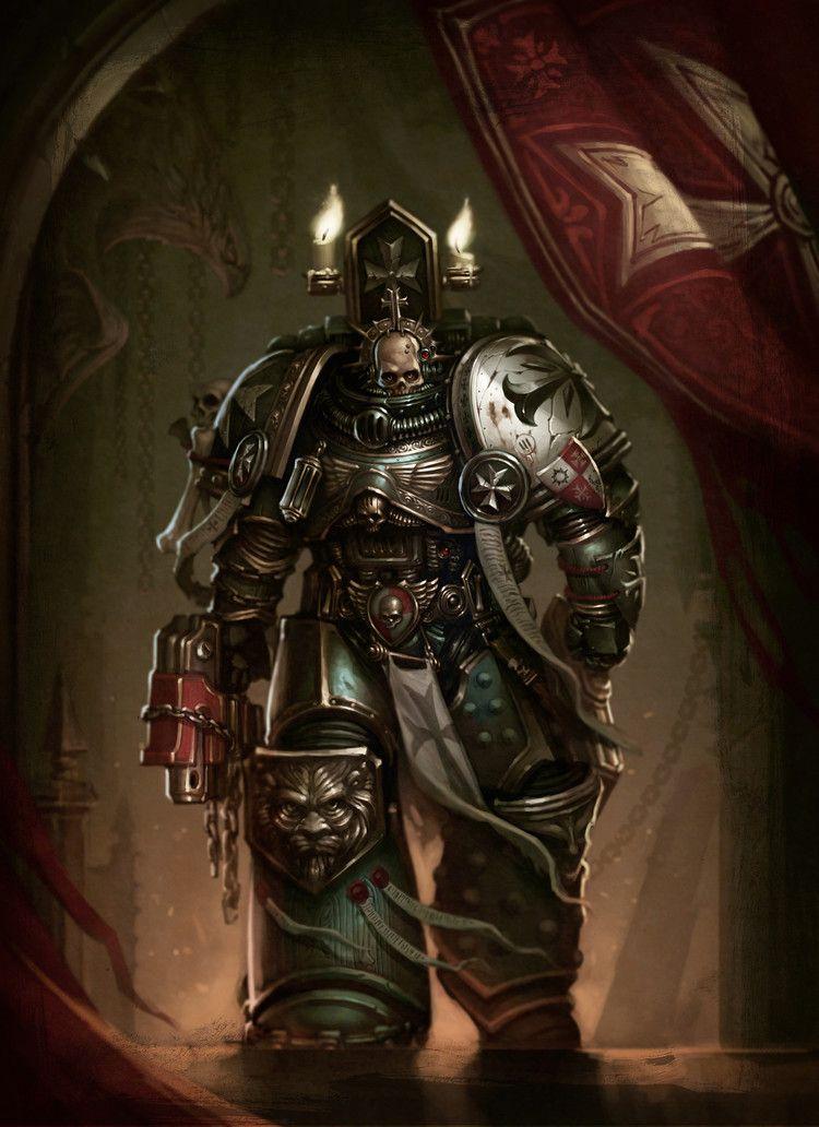 Amon Latif the Chaplain of the Black Templars by Mikhail Savier on ...