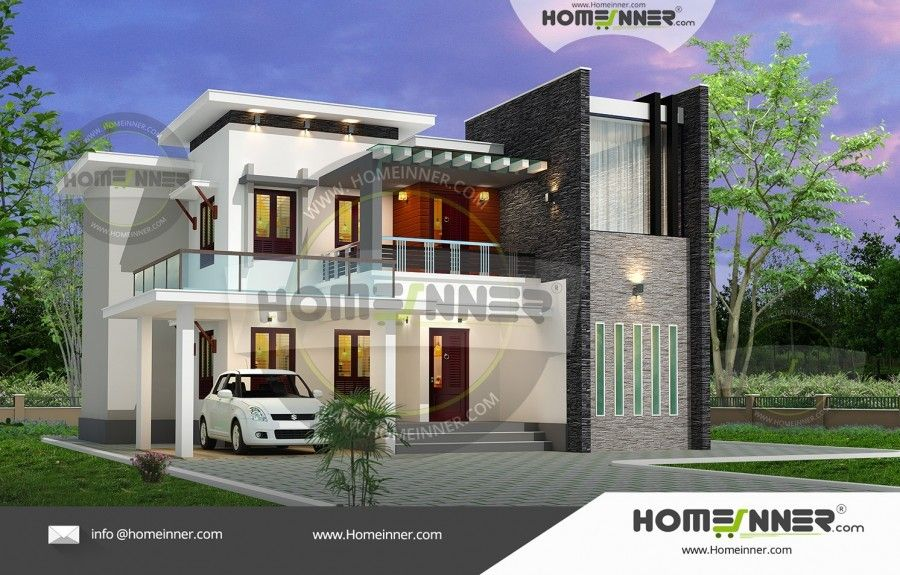 2700 Sq Ft 4 Bhk Indian Beautiful Homes Architectural House