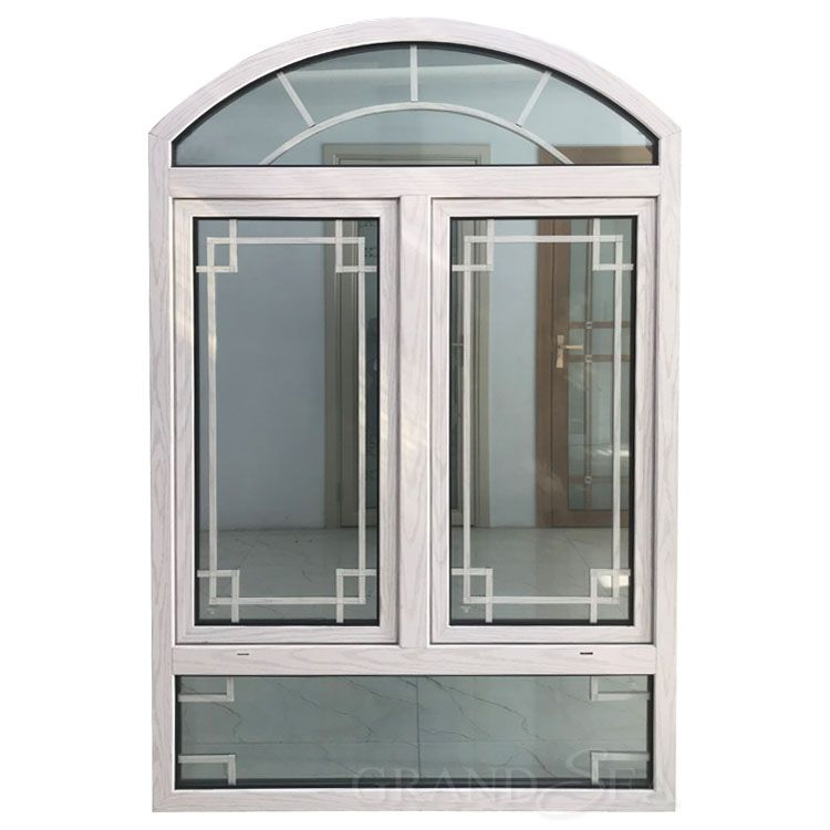 Double Glazed Arched Top Aluminum Double Hung Casement Windows In 2020 Casement Windows Casement Door Design Interior