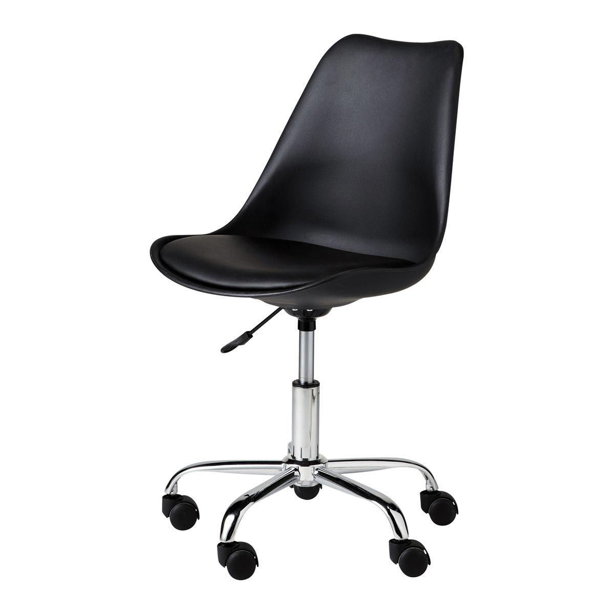 Chaise De Bureau Noire Bristol