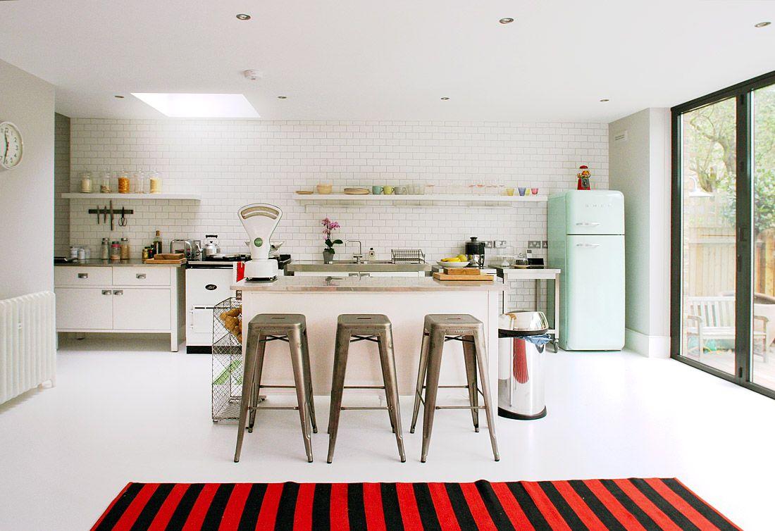 smeg fridge kitchen - Google Search | Home | Pinterest | Smeg fridge ...