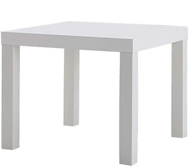 طاولة جانبية صغيرة باللون الابيض Home Decor Decor Furniture