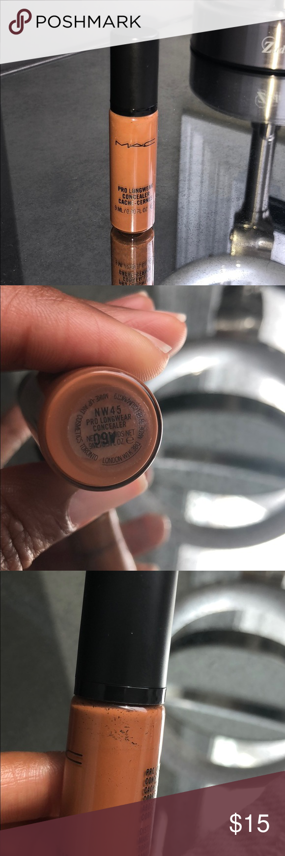 Used Once MAC Pro Longwear Concealer Shade NW45