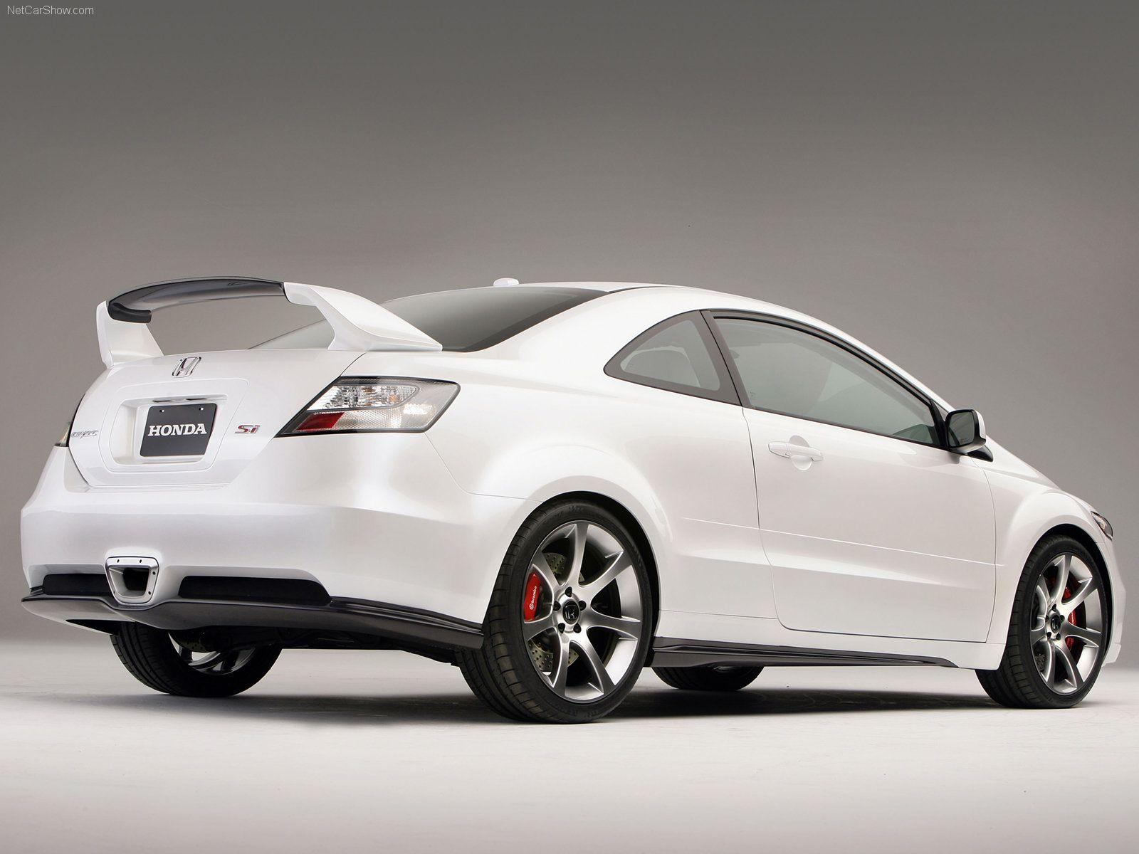 Charmant Civic Si   Honda Civic Si Sport Car Concept   Full HD Desktop Wallpapers