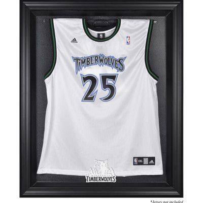 Mounted Memories NBA Logo Jersey Display Case Frame Finish: Black ...