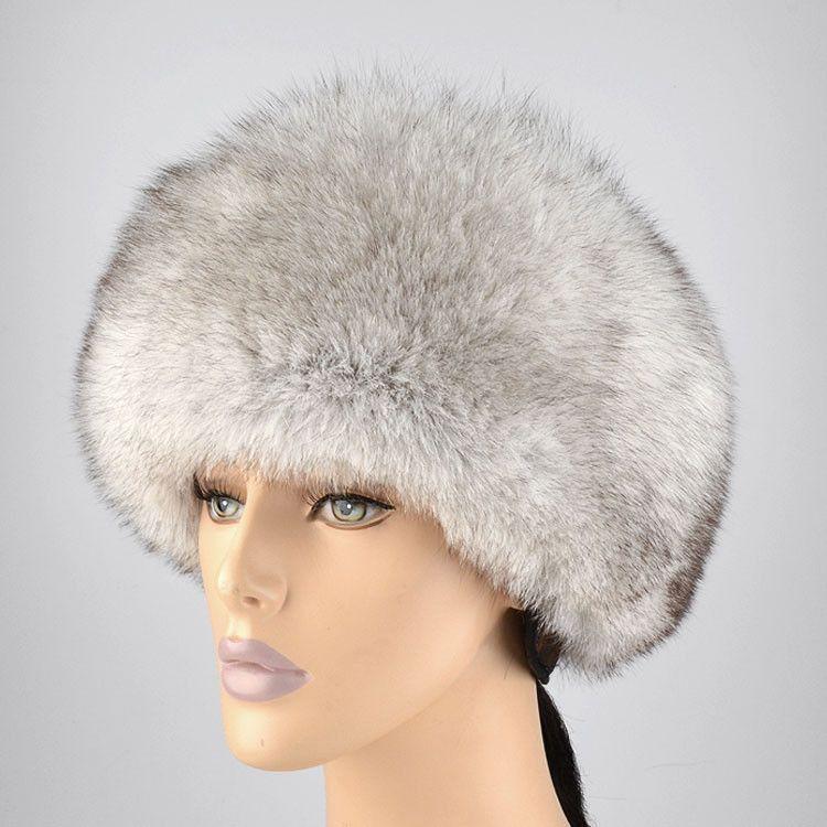 Russian Blue Fox Woman S Hat Hats For Women Hats Russian Blue