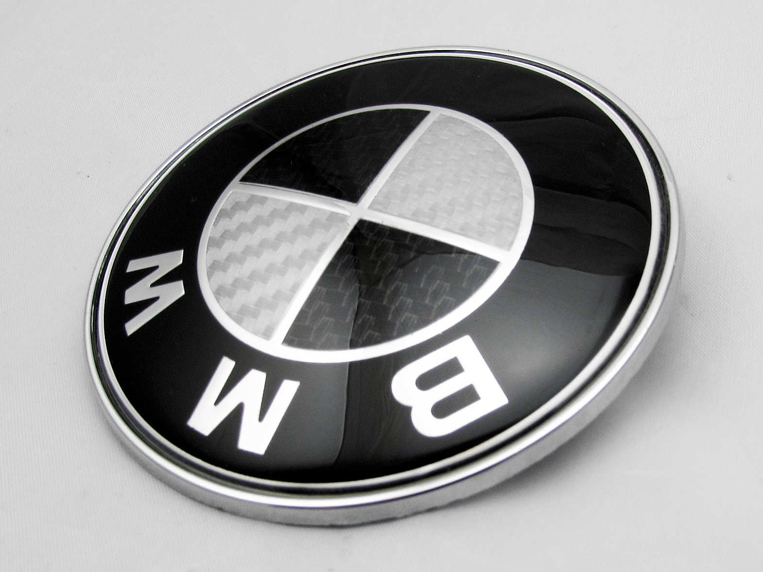 1 Pcs M Performance Car Vehicles Interior Black Emblems Sticker Badge Decal