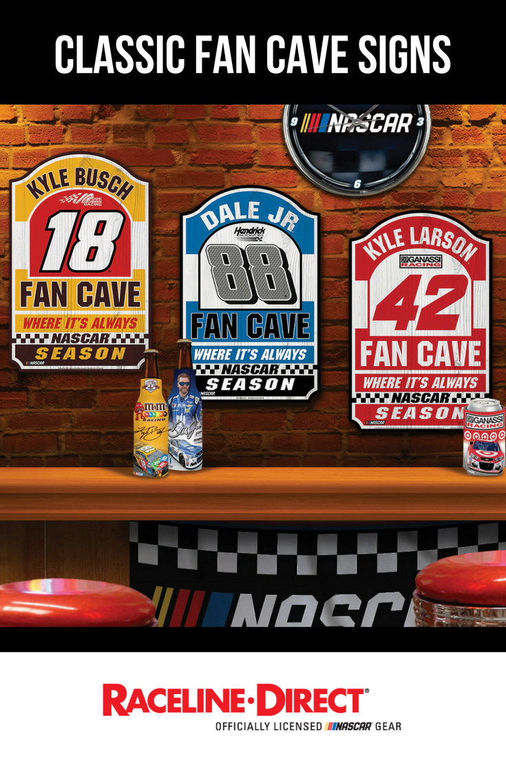 Clic Fan Cave Signs Are The Perfect Accent To You Nascar Home Decor
