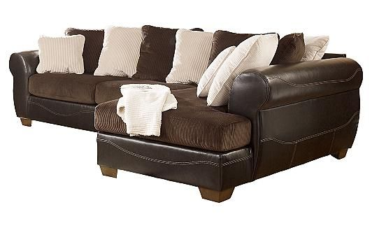 Ordinaire Victory   Chocolate Sectional From Ashley Furniture Homestore
