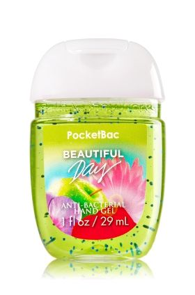 Beautiful Day Pocketbac Sanitizing Hand Gel Bath Body Works