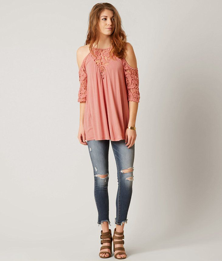 Gimmicks Cold Shoulder Top - Women's Shirts/Blouses in   Buckle   Women shirts blouse, Tops ...