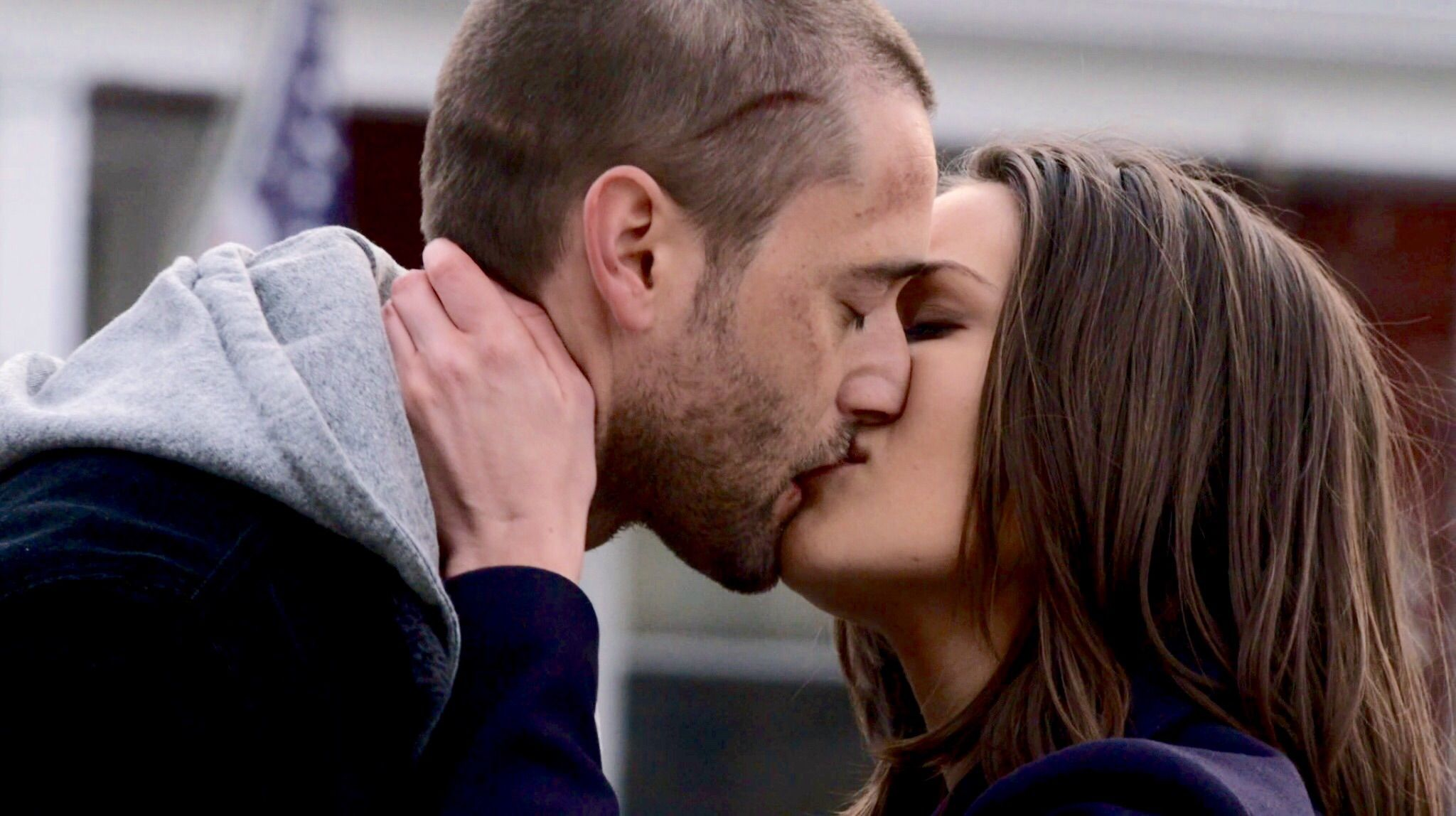 Megan boone kiss