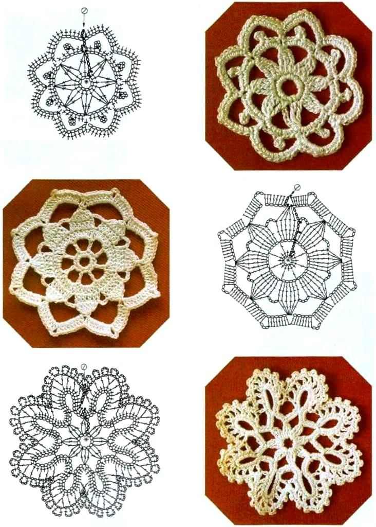 Page of Russian motifs....use in shawls?   crochet/knitting library ...