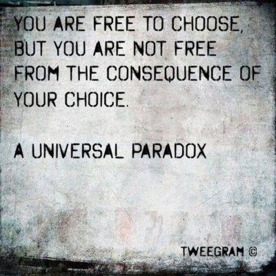 make better choices.