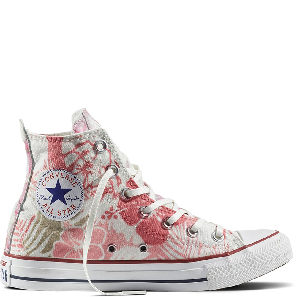 Chuck Taylor All Star Hawaiian Floral | Converse, Cute shoes ...