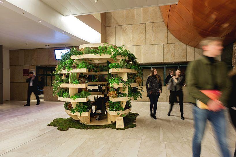 the growroom: IKEA open sources spherical garden | Wood | Pergola