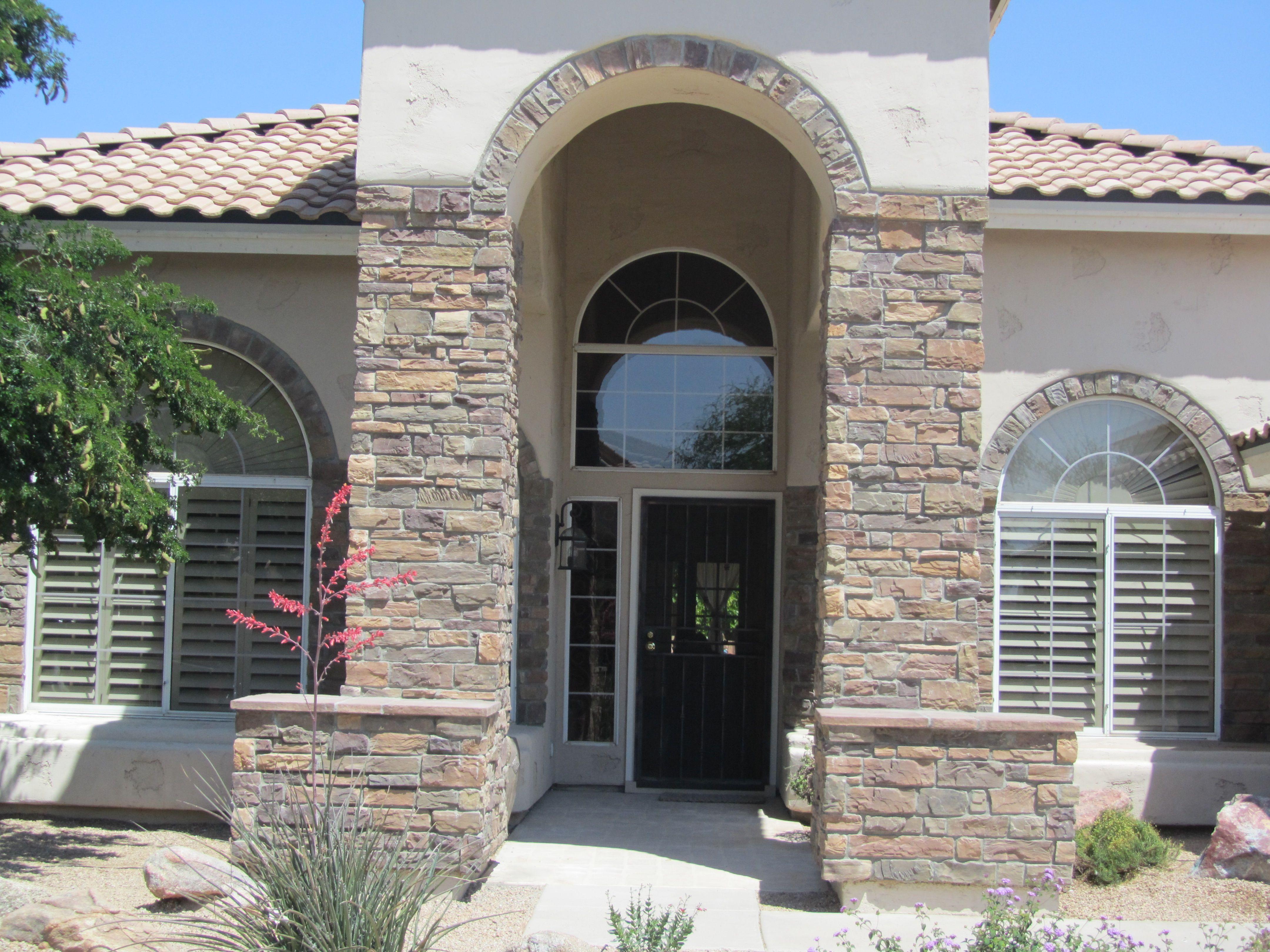 Front Door Archway