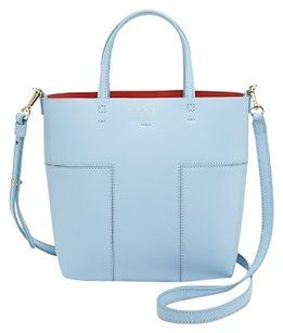 3c01efad Tory Burch Bags on Sale - Up to off at Tradesy. Tory Burch Tote in Light  Blue