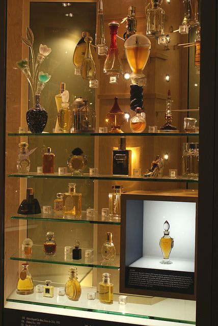 Beautiful concept for mini display. | Perfume bottle display by Ed Haas, via Flickr | Inspiration-Mood-Dream board for the planning of The Mini Museum & Miniature Perfume Shoppe