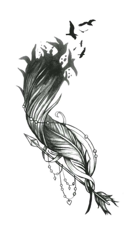 Feder Tattoo Bedeutung Und Vorlagen Tattoos 9 13