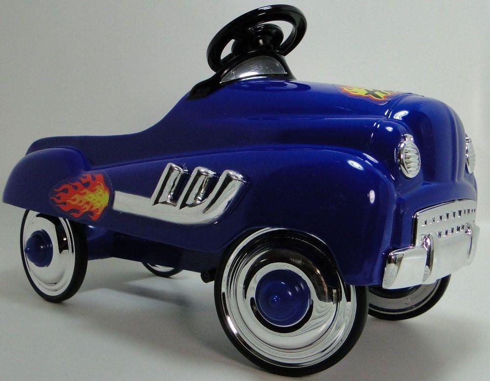 Pedal Car Ford Hot Rod Vintage Custom Sport Race Rare Midget