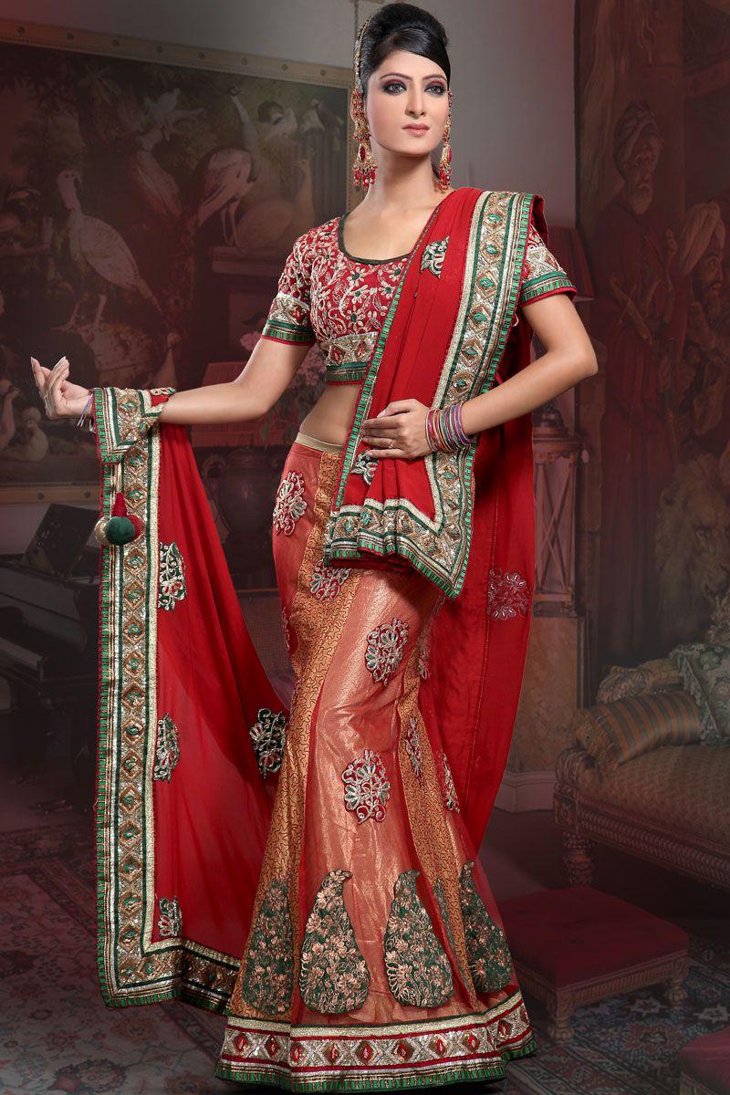 Indian Dress Designs   Bridal-Lenghas-Bridal-Lehenga-Choli-designs ...